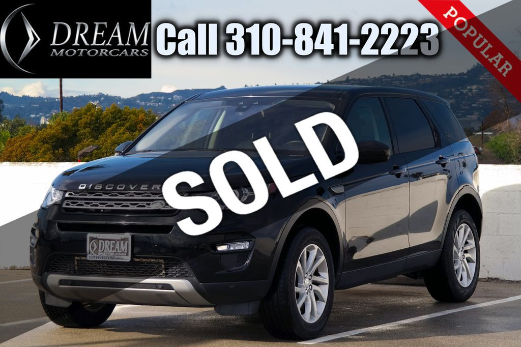 2017 Land Rover Discovery Sport HSE 4WD - 18546602 - 0