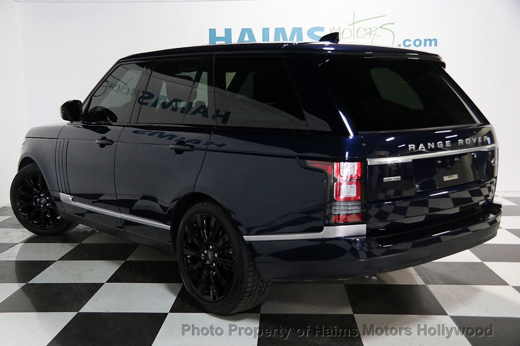 2017 Used Land Rover Range Rover Td6 Diesel HSE SWB at Haims Motors