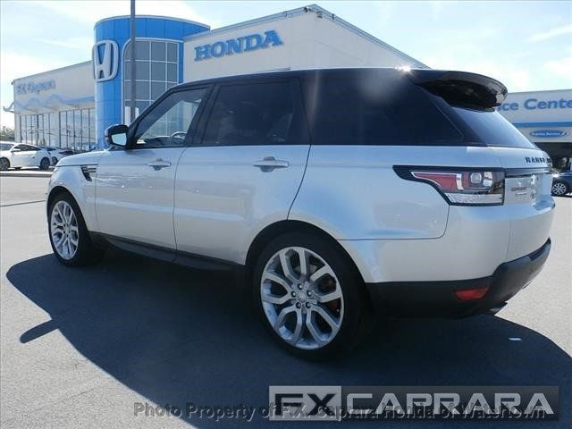 2017 Land Rover Range Rover Sport Supercharged - 17794252 - 4