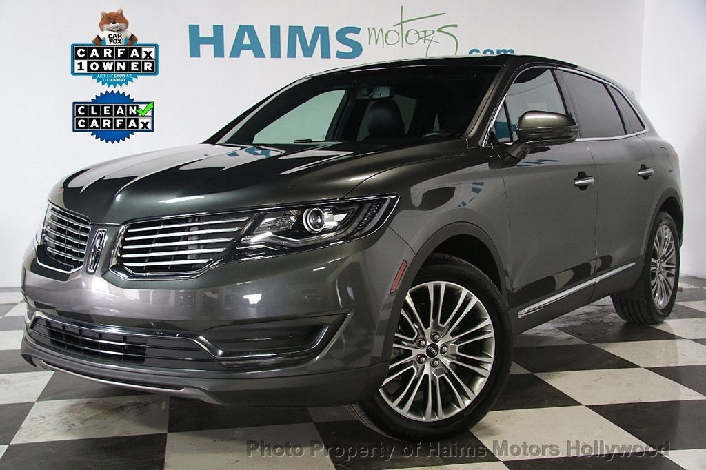 2017 used lincoln mkx reserve fwd at haims motors serving fort lauderdale hollywood miami fl. Black Bedroom Furniture Sets. Home Design Ideas