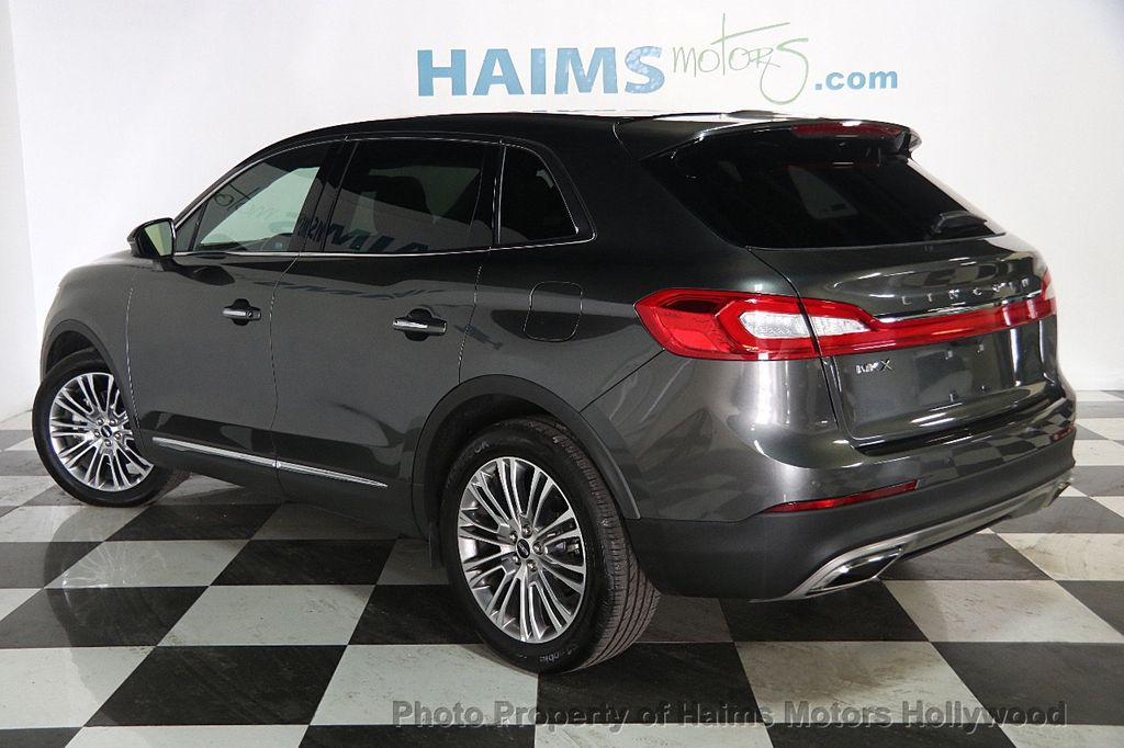 2017 Used Lincoln Mkx Reserve Fwd At Haims Motors Serving