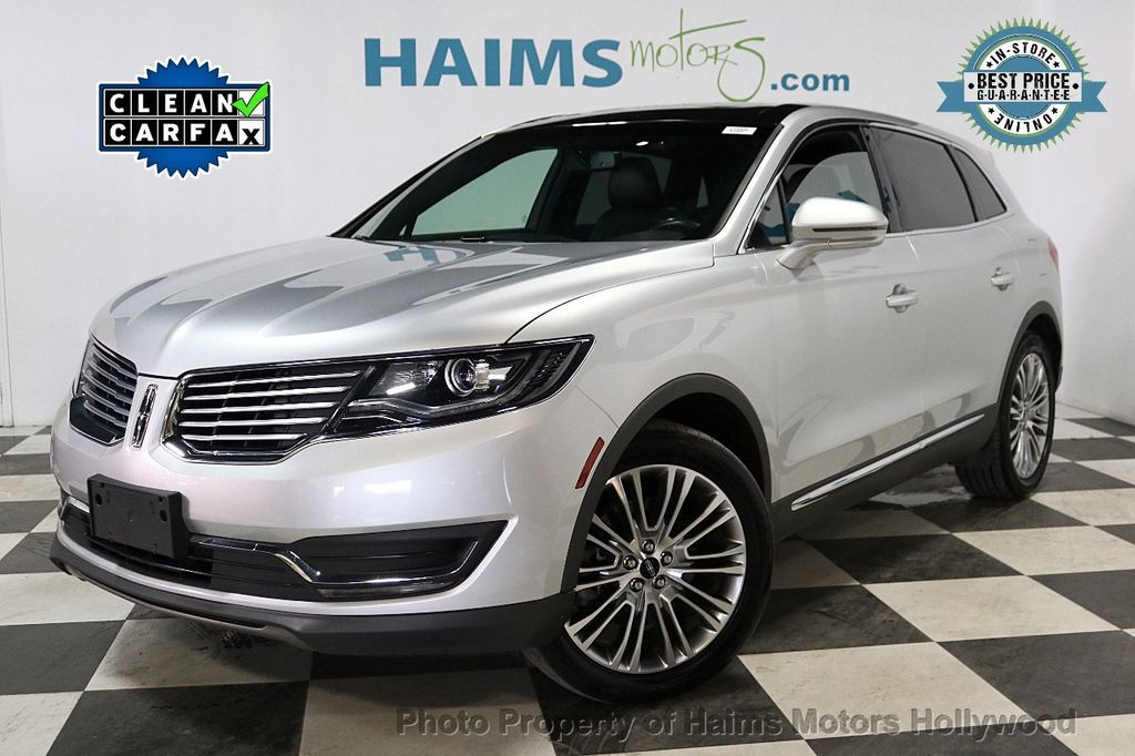 2017 Lincoln MKX Reserve FWD - 18146709 - 0