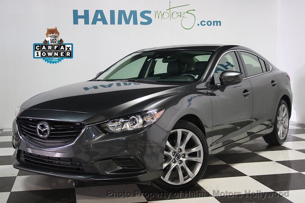 2017 used mazda mazda6 touring automatic at haims motors serving fort lauderdale hollywood. Black Bedroom Furniture Sets. Home Design Ideas