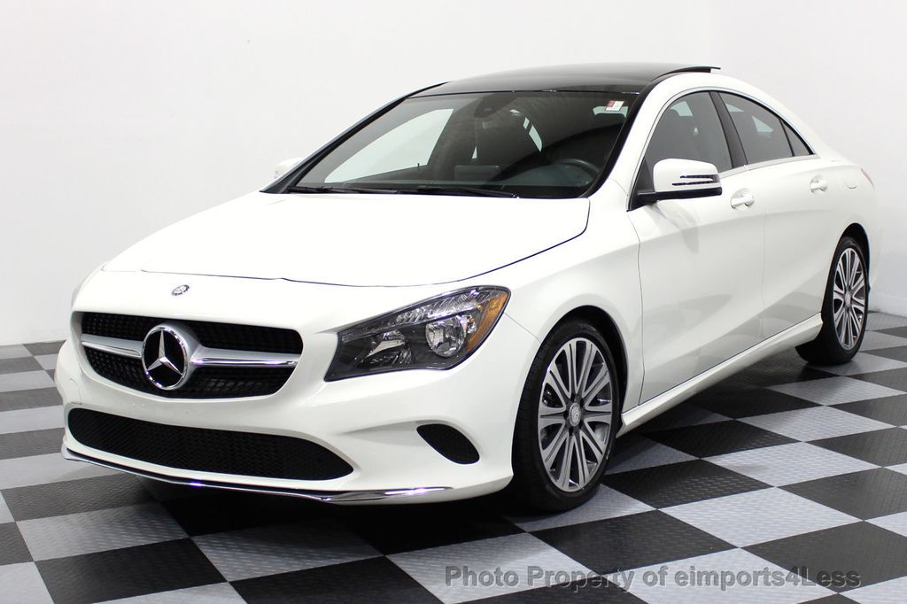 2017 used mercedes-benz cla certified cla250 4matic awd sport pano