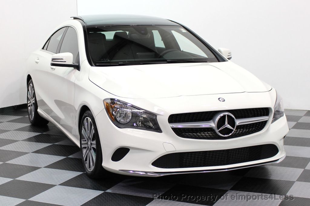 2017 Used Mercedes Benz Cla Certified Cla250 4matic Awd Sport Pano