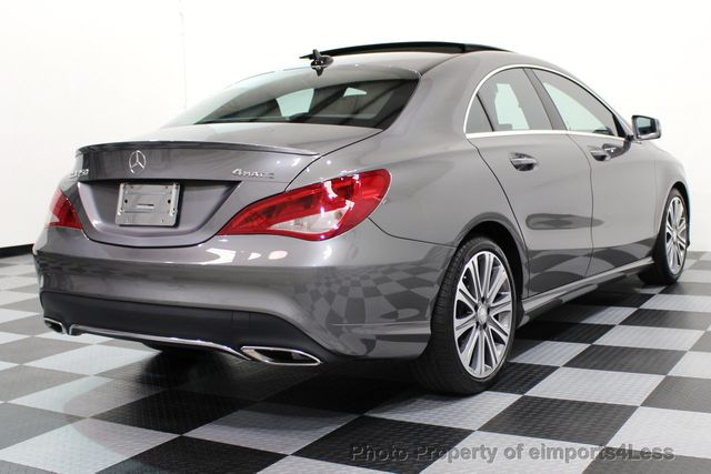 2017 Mercedes-Benz CLA CERTIFIED CLA250 4Matic Sport AWD CAMERA / NAVIGATION - 16676255 - 28