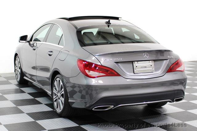 2017 Mercedes-Benz CLA CERTIFIED CLA250 4Matic Sport AWD CAMERA / NAVIGATION - 16676255 - 2