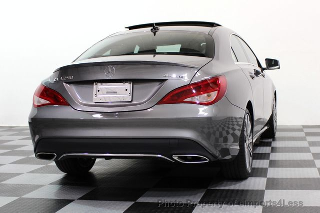 2017 Mercedes-Benz CLA CERTIFIED CLA250 4Matic Sport AWD CAMERA / NAVIGATION - 16676255 - 48