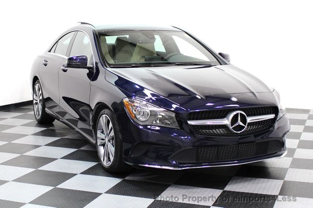 2017 Mercedes-Benz CLA CERTIFIED CLA250 4Matic Sport AWD CAMERA NAVIGATION - 16676264 - 1