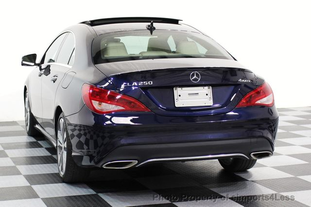 2017 Mercedes-Benz CLA CERTIFIED CLA250 4Matic Sport AWD CAMERA NAVIGATION - 16676264 - 28
