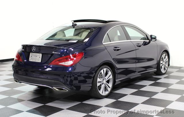2017 Mercedes-Benz CLA CERTIFIED CLA250 4Matic Sport AWD CAMERA NAVIGATION - 16676264 - 47