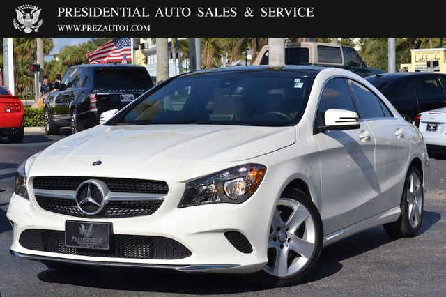 2017 Used Mercedes Benz Cla 250 Coupe At Presidential Auto S Service And Leasing Serving Palm Beach Boca Raton Delray Fl Iid 16962080