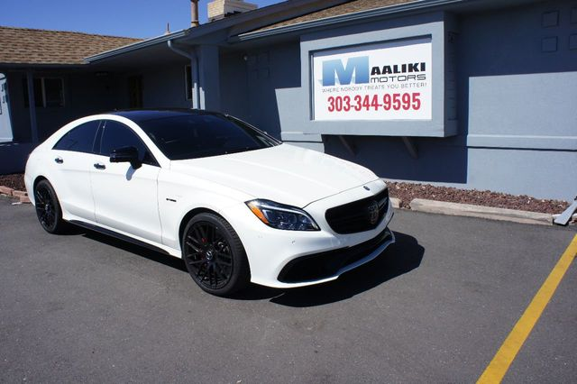 2017 Mercedes Benz Cls Amg 63 S 4matic Coupe 17728713 0