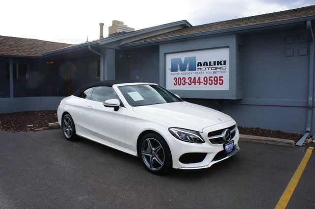 2017 Mercedes Benz C Cl 300 4matic Cabriolet 18406386 0