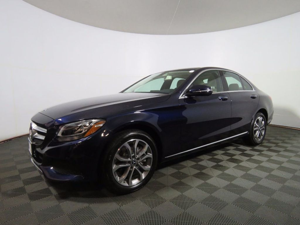 2017 used mercedes benz c class c 300 4matic sedan at