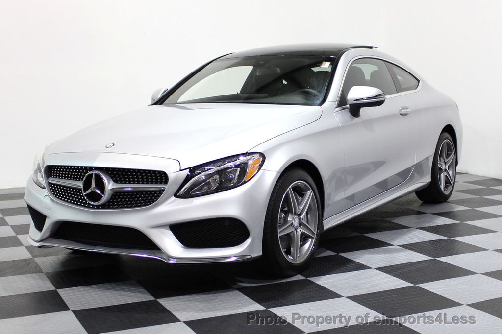 2017 used mercedes benz certified c300 4matic amg sport p2 awd cam navi at eimports4less serving. Black Bedroom Furniture Sets. Home Design Ideas