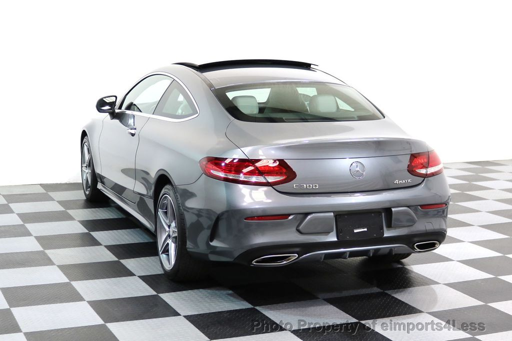 2017 Used Mercedes-Benz CERTIFIED C300 4Matic AMG Sport ...
