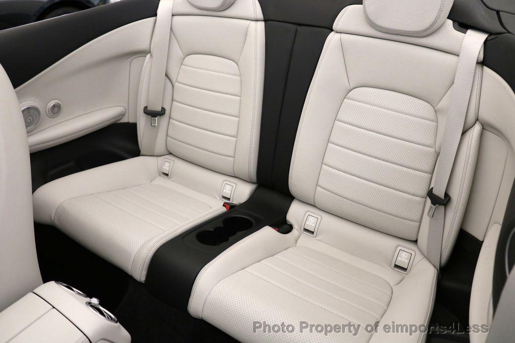 2017 Mercedes-Benz C-Class CERTIFIED C300 4Matic AWD CABRIOLET LED Blind Spot NAVI - 17234534 - 9