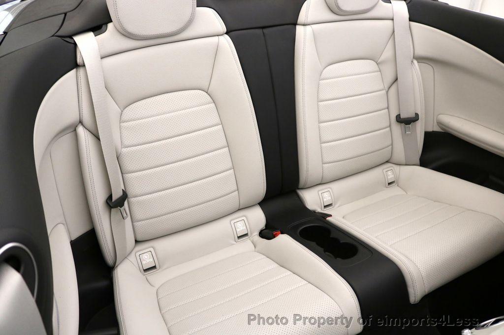 2017 Mercedes-Benz C-Class CERTIFIED C300 4Matic AWD CABRIOLET LED Blind Spot NAVI - 17234534 - 10