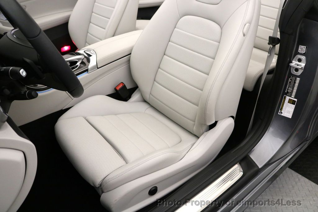 2017 Mercedes-Benz C-Class CERTIFIED C300 4Matic AWD CABRIOLET LED Blind Spot NAVI - 17234534 - 22