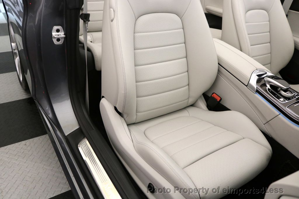 2017 Mercedes-Benz C-Class CERTIFIED C300 4Matic AWD CABRIOLET LED Blind Spot NAVI - 17234534 - 23