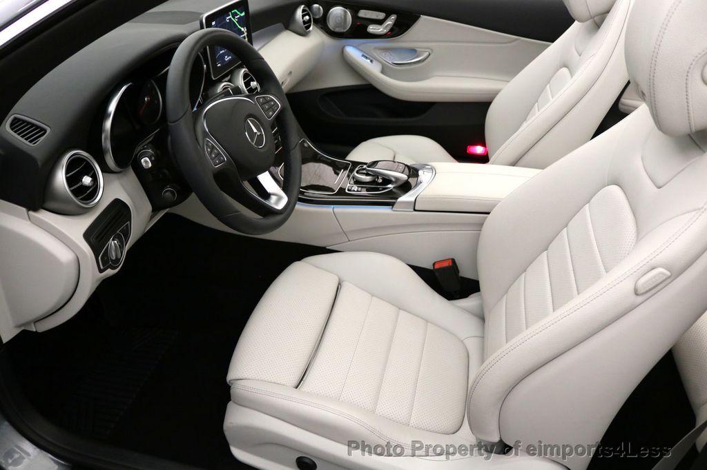 2017 Mercedes-Benz C-Class CERTIFIED C300 4Matic AWD CABRIOLET LED Blind Spot NAVI - 17234534 - 31