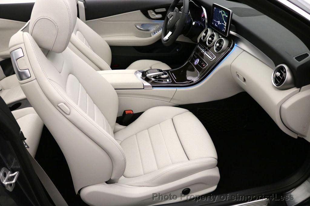 2017 Mercedes-Benz C-Class CERTIFIED C300 4Matic AWD CABRIOLET LED Blind Spot NAVI - 17234534 - 32