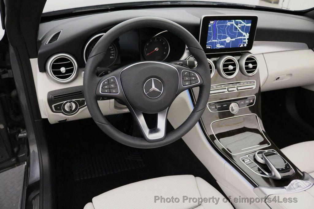 2017 Mercedes-Benz C-Class CERTIFIED C300 4Matic AWD CABRIOLET LED Blind Spot NAVI - 17234534 - 33