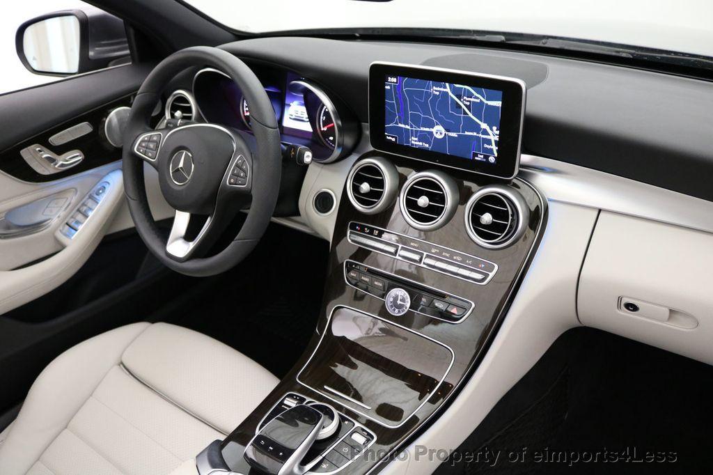 2017 Mercedes-Benz C-Class CERTIFIED C300 4Matic AWD CABRIOLET LED Blind Spot NAVI - 17234534 - 34
