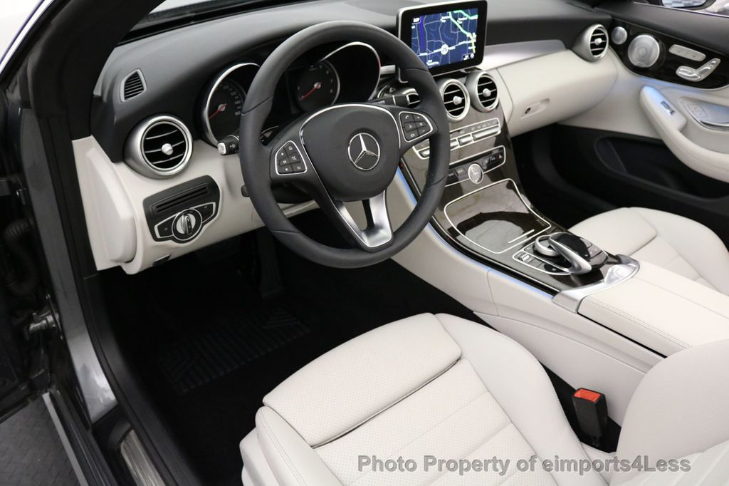 2017 Mercedes-Benz C-Class CERTIFIED C300 4Matic AWD CABRIOLET LED Blind Spot NAVI - 17234534 - 42