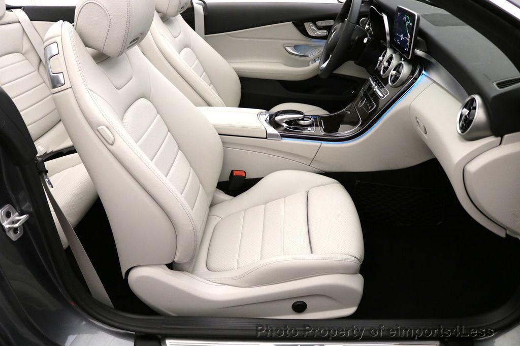 2017 Mercedes-Benz C-Class CERTIFIED C300 4Matic AWD CABRIOLET LED Blind Spot NAVI - 17234534 - 43