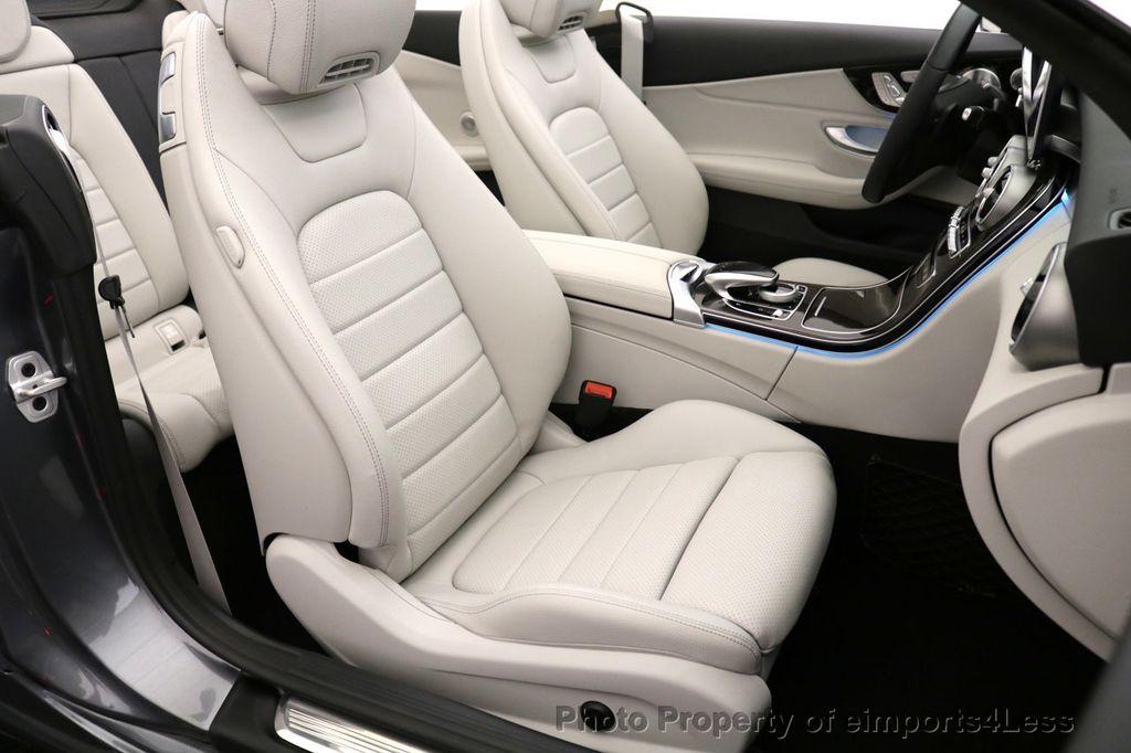 2017 Mercedes-Benz C-Class CERTIFIED C300 4Matic AWD CABRIOLET LED Blind Spot NAVI - 17234534 - 45