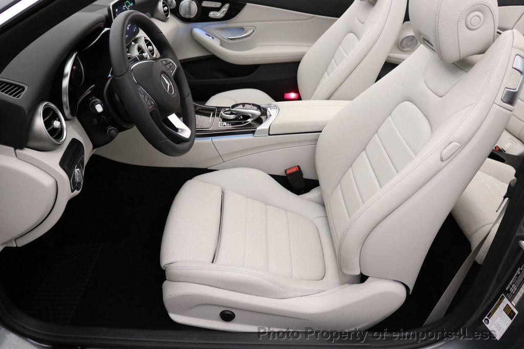 2017 Mercedes-Benz C-Class CERTIFIED C300 4Matic AWD CABRIOLET LED Blind Spot NAVI - 17234534 - 46