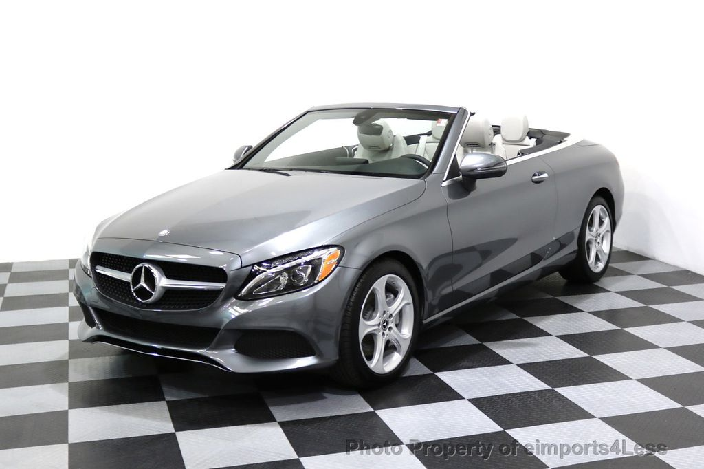 2017 Mercedes-Benz C-Class CERTIFIED C300 4Matic AWD CABRIOLET LED Blind Spot NAVI - 17234534 - 48