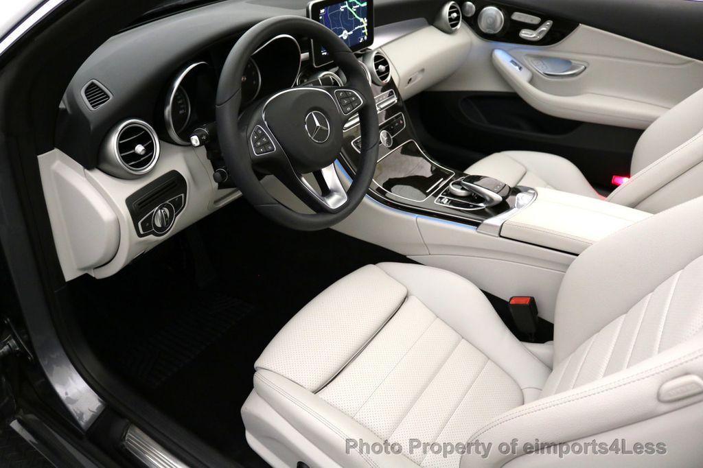 2017 Mercedes-Benz C-Class CERTIFIED C300 4Matic AWD CABRIOLET LED Blind Spot NAVI - 17234534 - 7