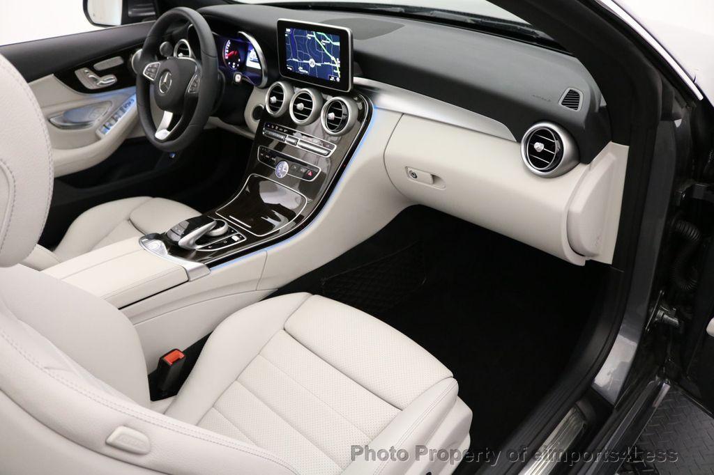 2017 Mercedes-Benz C-Class CERTIFIED C300 4Matic AWD CABRIOLET LED Blind Spot NAVI - 17234534 - 8
