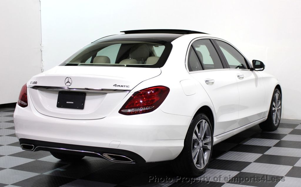 Mercedes Benz Dealership >> 2017 Used Mercedes-Benz C-Class CERTIFIED C300 4MATIC AWD Camera BLIND SPOT NAVI at ...