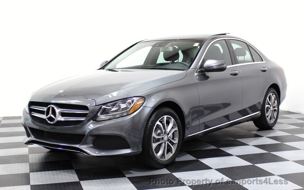 2017 Mercedes-Benz C-Class CERTIFIED C300 4Matic AWD CAMERA / NAVIGATION - 16747583 - 0