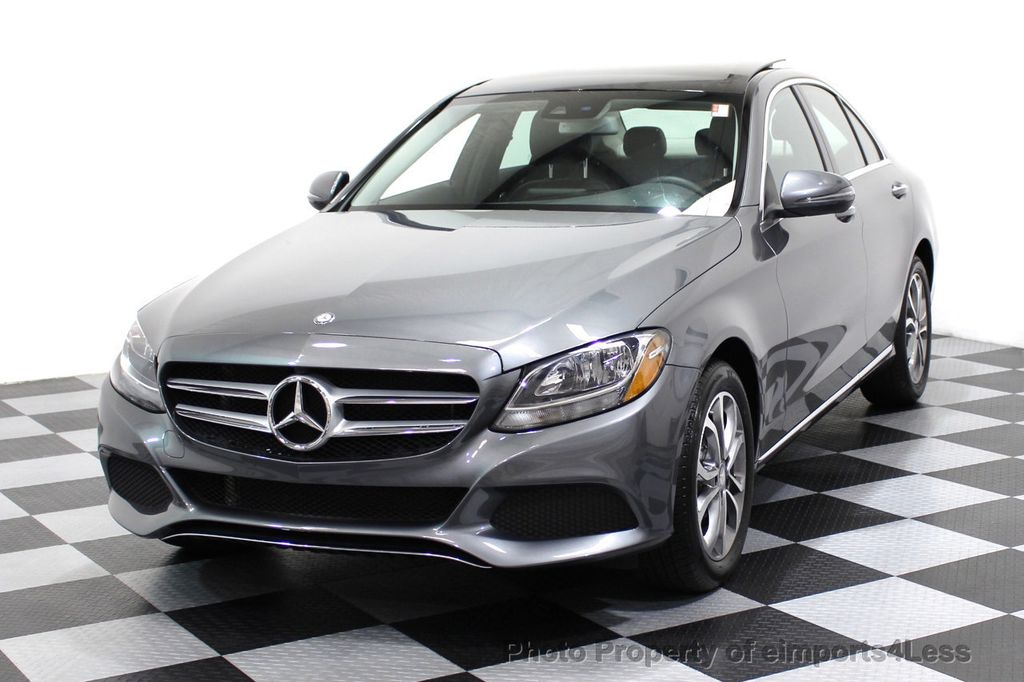 2017 Mercedes-Benz C-Class CERTIFIED C300 4Matic AWD CAMERA / NAVIGATION - 16747583 - 17