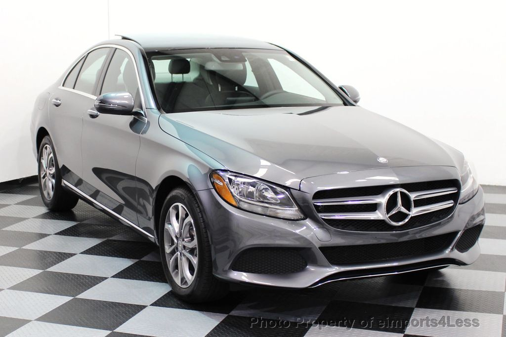 2017 Mercedes-Benz C-Class CERTIFIED C300 4Matic AWD CAMERA / NAVIGATION - 16747583 - 1