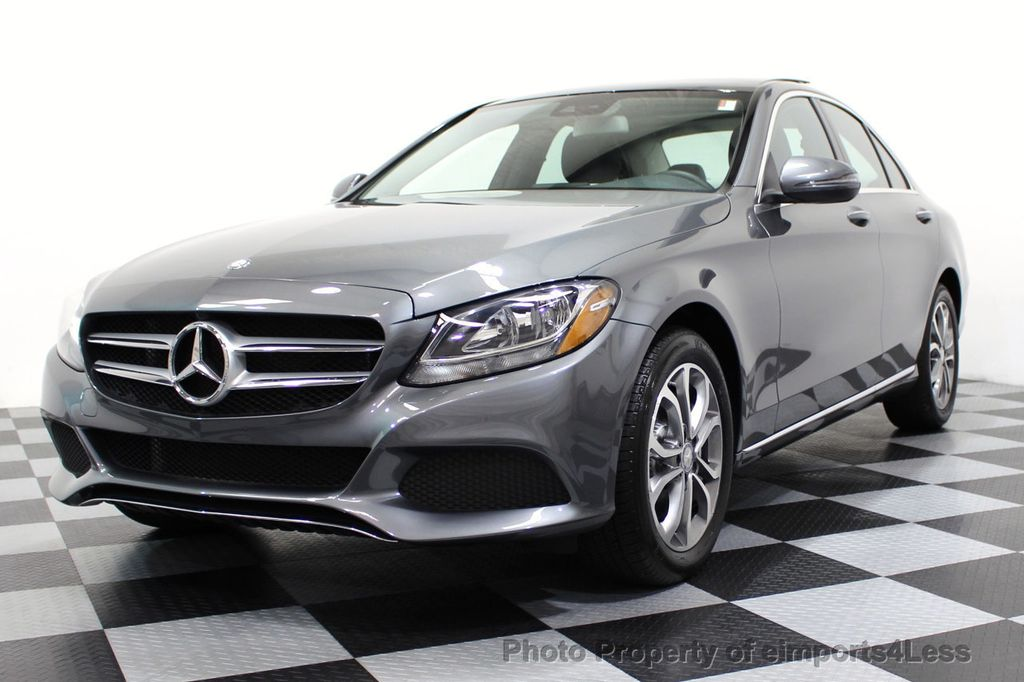 2017 Mercedes-Benz C-Class CERTIFIED C300 4Matic AWD CAMERA / NAVIGATION - 16747583 - 28