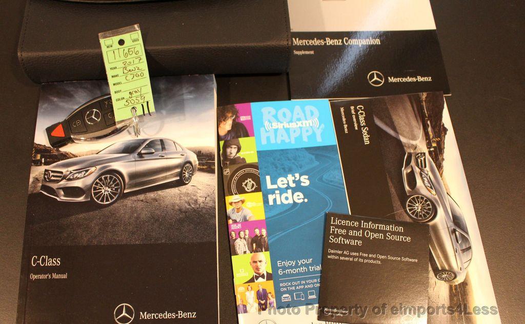 2017 Mercedes-Benz C-Class CERTIFIED C300 4Matic AWD CAMERA / NAVIGATION - 16747583 - 36