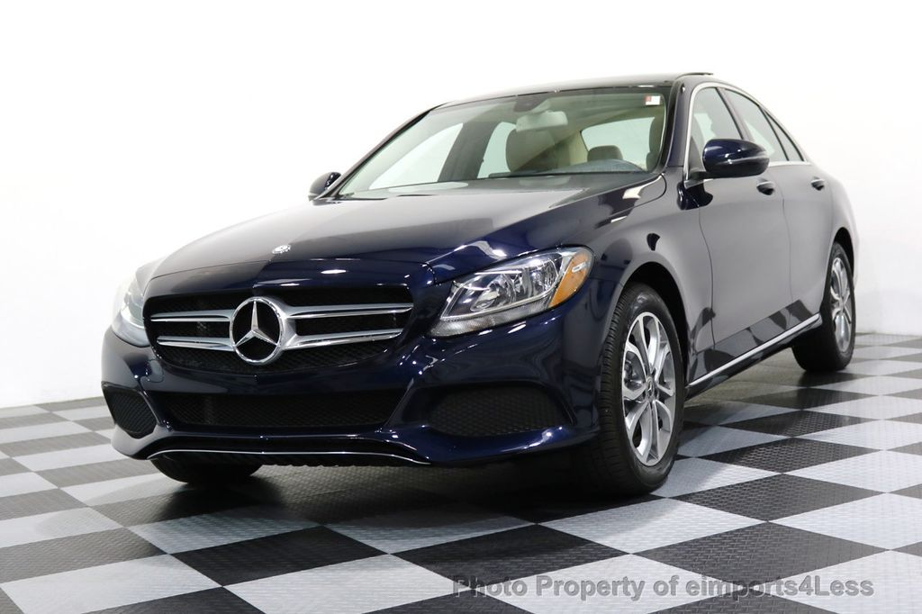 2017 Mercedes-Benz C-Class CERTIFIED C300 4Matic AWD Pano Camera NAVI - 16934087 - 12