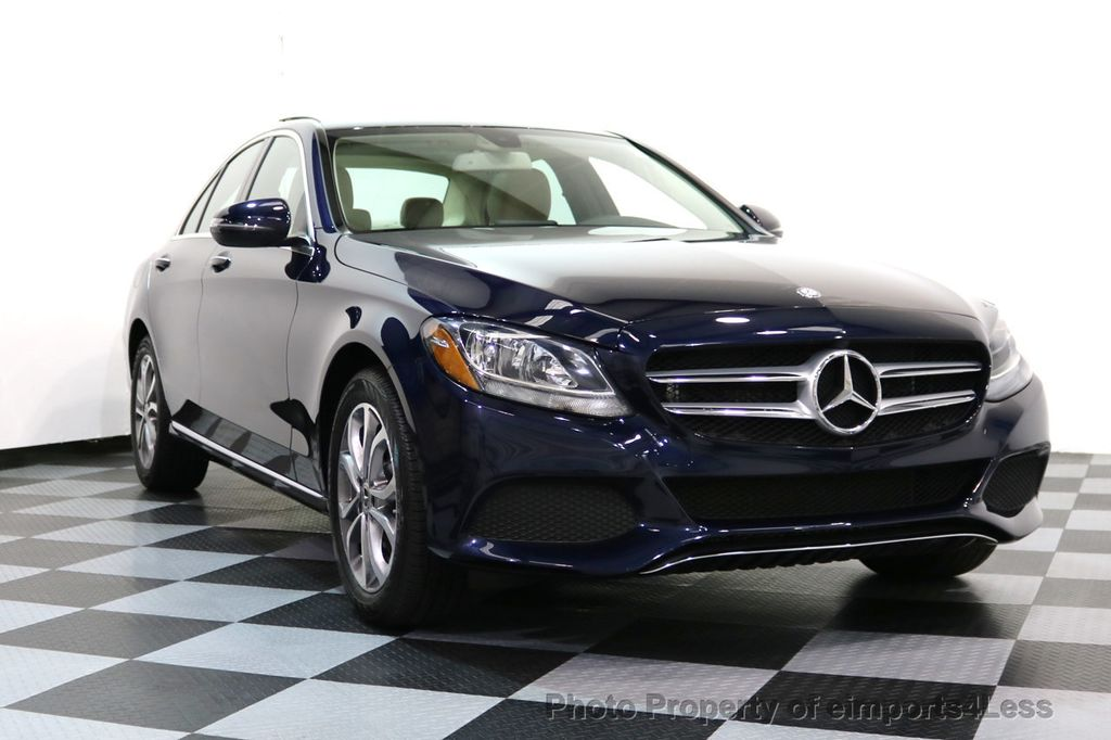 2017 Mercedes-Benz C-Class CERTIFIED C300 4Matic AWD Pano Camera NAVI - 16934087 - 13