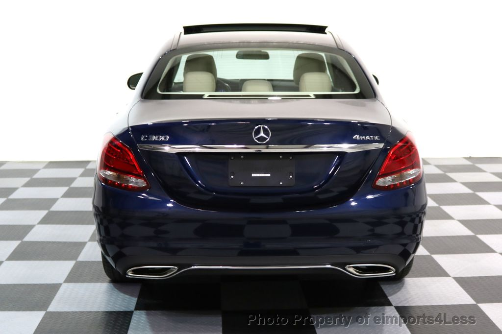 2017 Mercedes-Benz C-Class CERTIFIED C300 4Matic AWD Pano Camera NAVI - 16934087 - 15