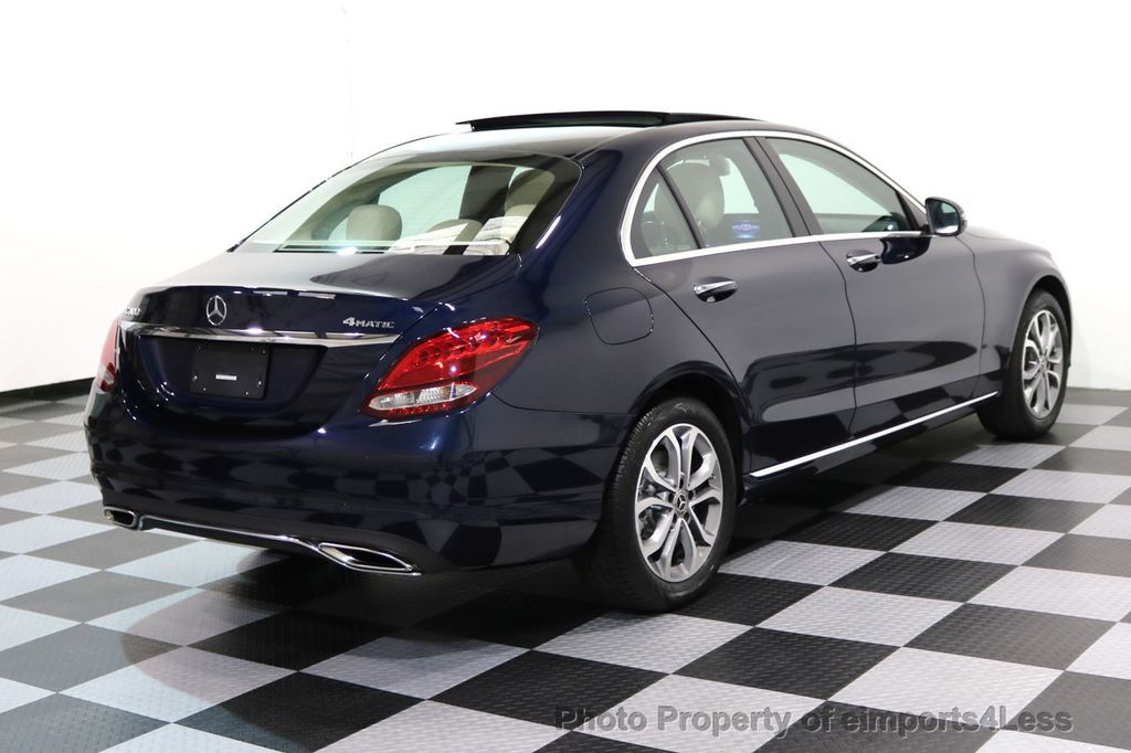 2017 Mercedes-Benz C-Class CERTIFIED C300 4Matic AWD Pano Camera NAVI - 16934087 - 16