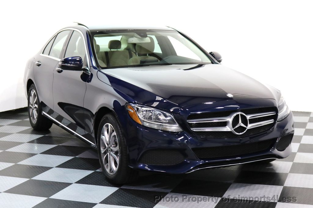 2017 Mercedes-Benz C-Class CERTIFIED C300 4Matic AWD Pano Camera NAVI - 16934087 - 1
