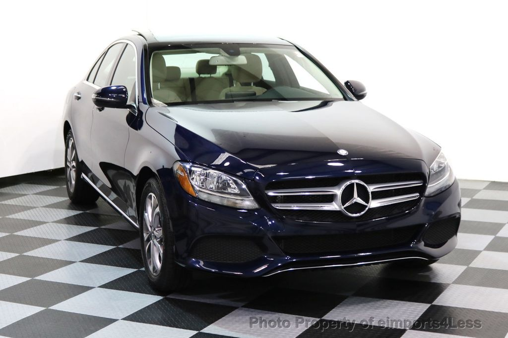 2017 Mercedes-Benz C-Class CERTIFIED C300 4Matic AWD Pano Camera NAVI - 16934087 - 27