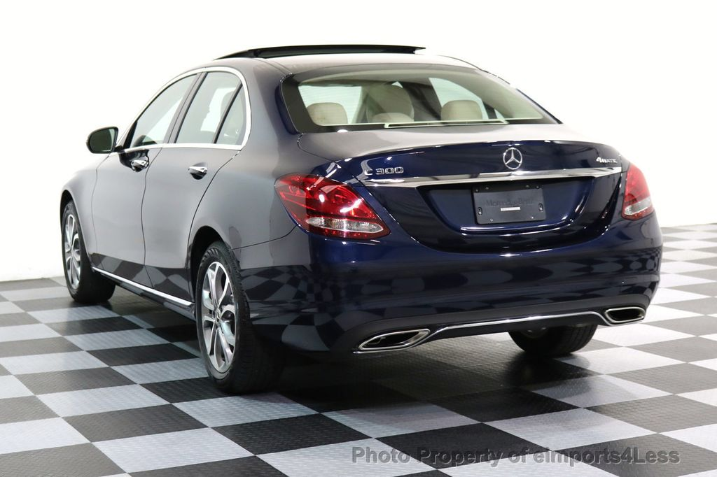 2017 Mercedes-Benz C-Class CERTIFIED C300 4Matic AWD Pano Camera NAVI - 16934087 - 2