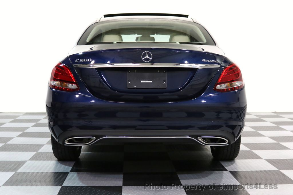 2017 Mercedes-Benz C-Class CERTIFIED C300 4Matic AWD Pano Camera NAVI - 16934087 - 29